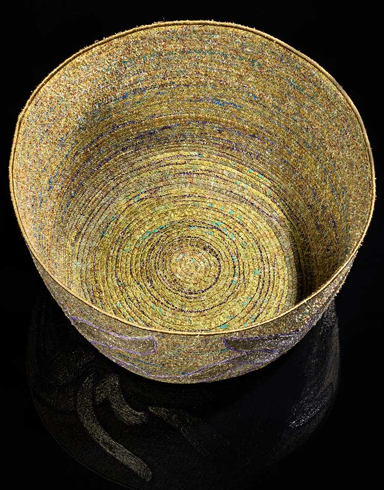 Katherine Sylvan - Silk Sculpture