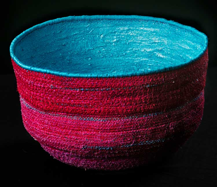 Silk Sculpture-#1