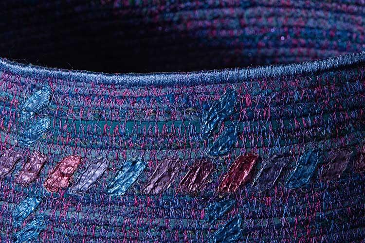 Silk Sculpture-#13-detail